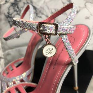 Blumarine Glitter Heels